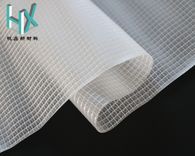 FR anti-uv Transparent mesh polyester vinyl