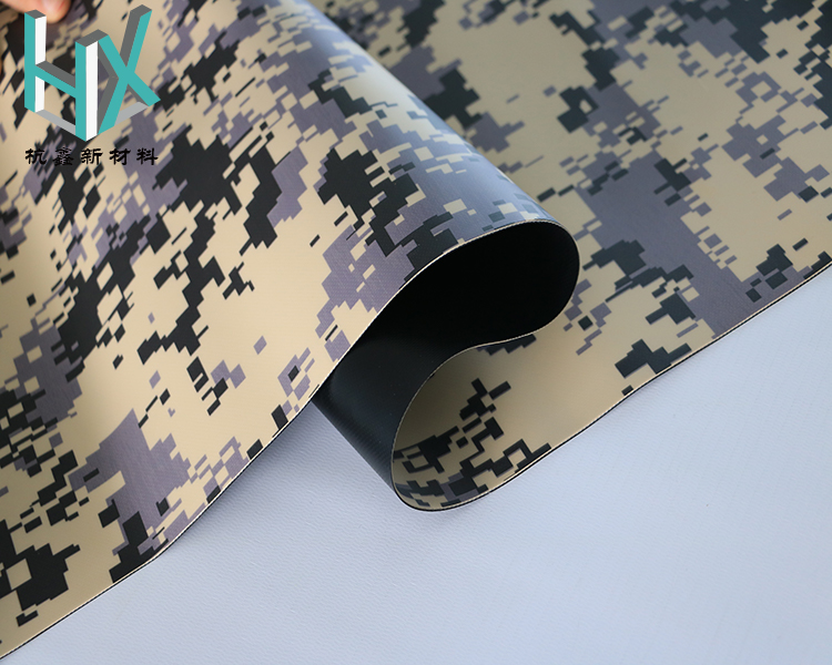 inflatable boats camouflage coated fabric