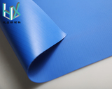 glossy blue heavy tarp Pvc Coated Fabric